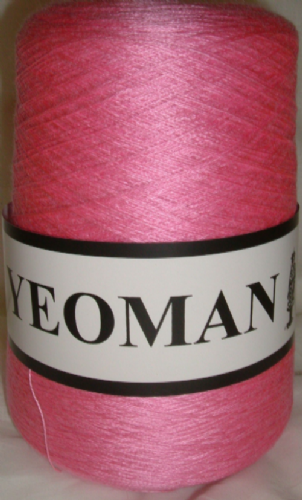 Yeoman Supersheen Acrylic Yarn Knitting Machine Rose Pink